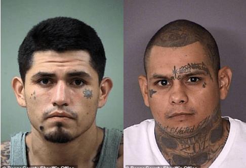 Daniel Lopez [left] and Gabriel Moreno [right] 1