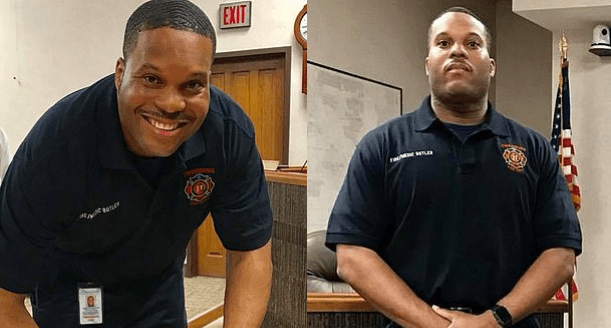 Ohio firefighter Demetrius Butler, 35, shoots dead  fiancée and then kills himself in front of police after her terrified 11-year-old daughter calls 911