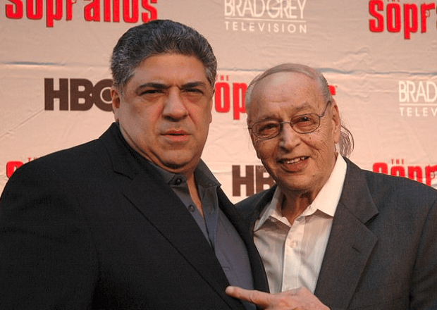 Vincent Pastore [left], and Tony Lip [right] 1