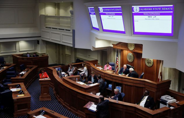 Alabama's state senate pass a bill which bans abortions