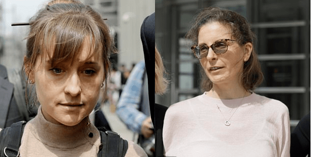 Allison Mack [left] and Clare Bronfman [right] 3.png