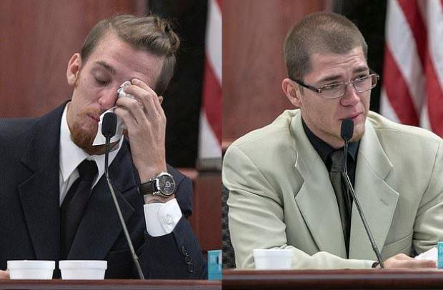 Tyler Jones [left], and Travis Jones 1