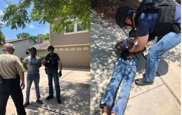 Andre McDonald arrest 1