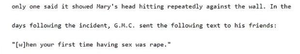 James Troiano court statement 2
