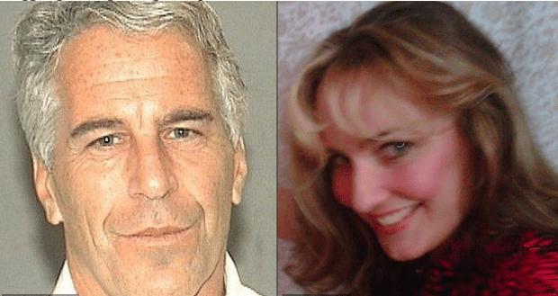 Jeffrey Epstein and Maria Farmer 1