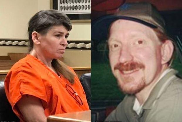 Jennifer Via [left], killed her husband Thomas Via [right] 1