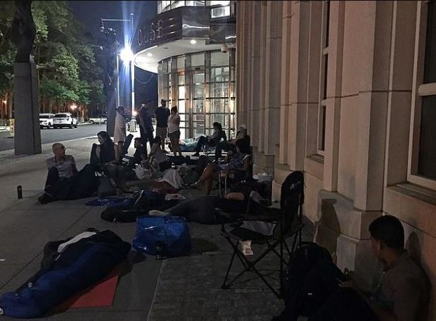 Journalists trying to gain access to El Chapo sentencing camped outside overnight