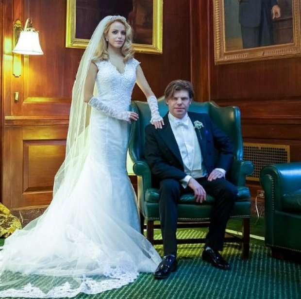 Julianne Michelle, and Karl Christian Reeves, wedding in 2015 2