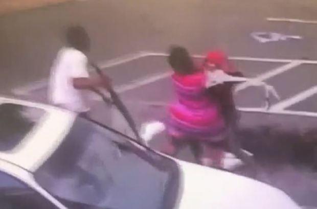 Karen Lashun Harrison fight scene 1