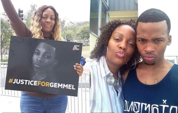 LaTisha Nixon and her son Gemmel Moore 1