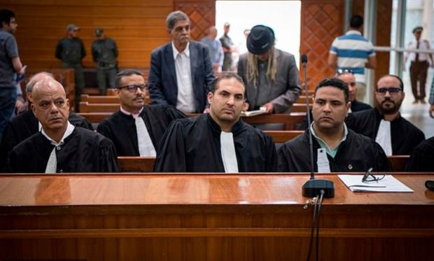 Lawyers for Rachid Afatti, Ouziad Younes and Abdessamad Ejjoud 1