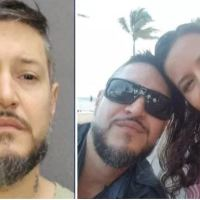 Florida man claimed he was arguing with his girlfriend when she was killed when a spear she was holding onto snapped, impaling her chest, disbelieving his tale, police have charged  Adam Crespo, of murdering Silvia Galva in Miami-Dade