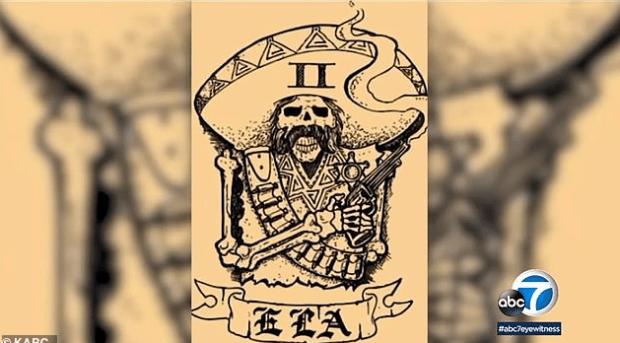 Tattooed Banditos Sheriff's deputy 3