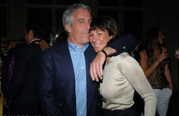 Jeffrey Epstein [left], and Ghislaine Maxwell in 2005