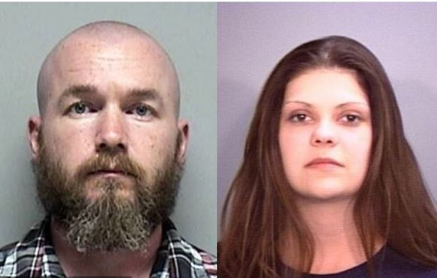 Keith Comfort, [left] and his wife, Megan Nicole Shultz, [right] 1