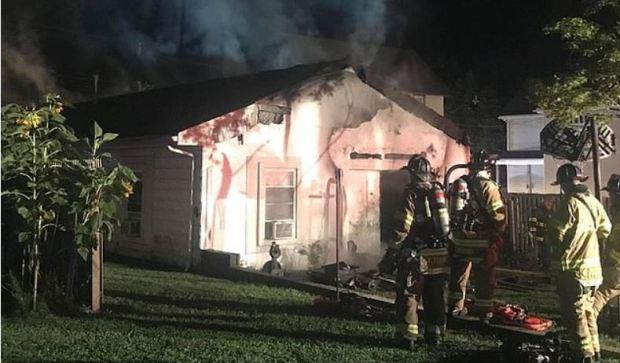Taija Russell arson scene 2
