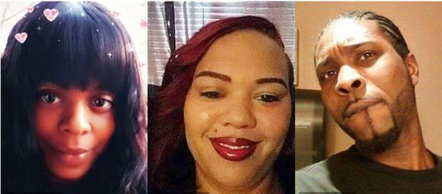 Whitney Nolbert (left), Lynisha Mitchell, (center), and Daniel Price, 40 (right) 1