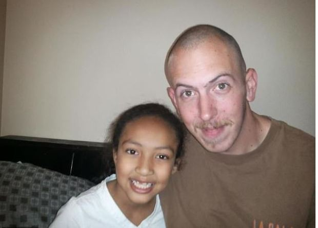 Zaria Burgess [left], killed by her dad Joshua Burgess [right] 1.JPG