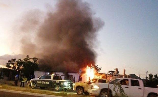 Dayron Luna Viera was killed in this house fire set by El Chapo's thugs 1