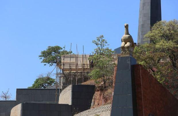 Mausoleum where Robert Mugabe was to be buried 1.JPG