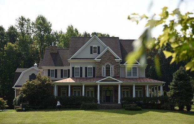 Oleg Smolenkov's US home in in Stafford, VA, a suburb close to Quantico