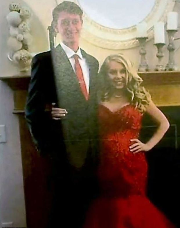 Pregnant Brooke Skylar Richardson and her boyfriend, Brandon Saylor 1