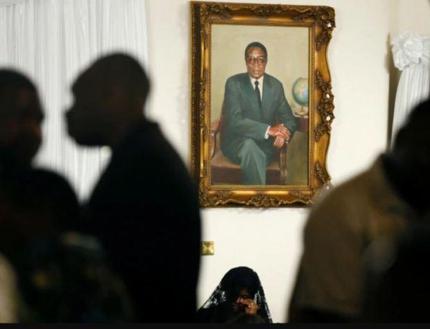Robert Mugabe funeral 2