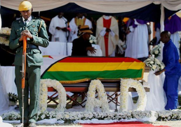 Robert Mugabe funeral 7