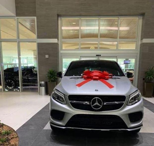 Shanica Harris' Mercedes Benz SUV 1