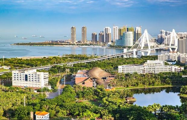 Haikou, the capital of Hainan in China 1.JPG