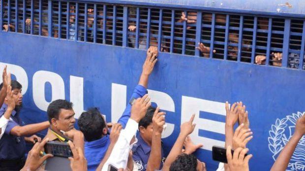 Nusrat Jahan Rafi's killers in police custody 1.jpg