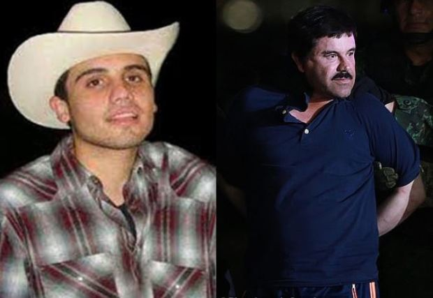 Ovidio Guzman Lopez and his dad Joaquin El Chapo Guzman 1.JPG