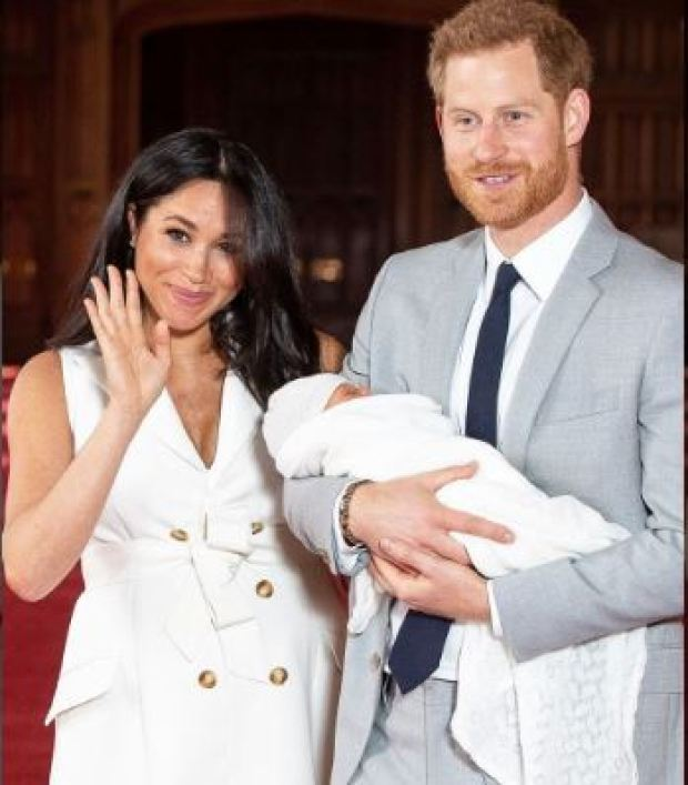 Prince Harry, Meghan and Archie 1