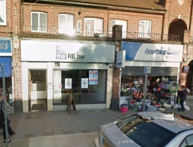 RE Bar in West London, UK