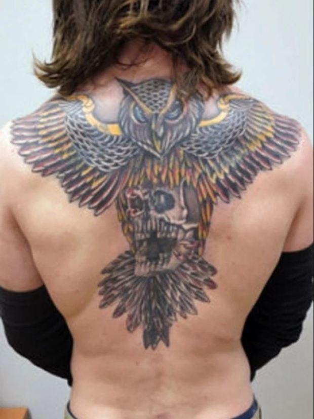 Shane O'Brien tattoo 2