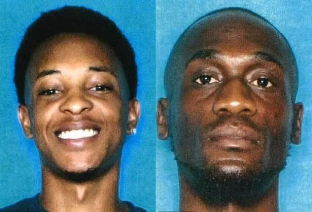 Thaddeous Charles Green, (left) Michael Diaz Mitchell, (right) 1
