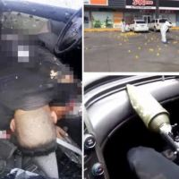 Sinaloa cartel brings havoc to Mexico after arrest of El Chapo's son as police officer who arrested Ovidio Guzmán López briefly last month is assassinated in a hail of bullets