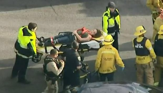 Shooting victim at Saugus High School on Centurion Way in Santa Clarita, Calif. 4