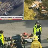 Suspect in California high school shooting  in custody after surviving suicide attempt - At least seven people injured, one student dead three others with gunshot wounds; Cops say gunman is 15-year-old male Asian student