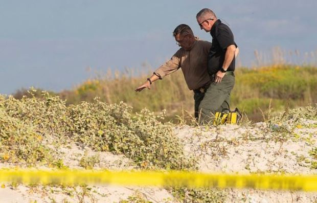 The bodies of James and Michelle Butler were found in a shallow grave on a beach in Corpus Christi, Texas 1.JPG