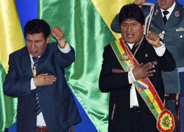 Victor Borda and President Evo Morales 1.JPG