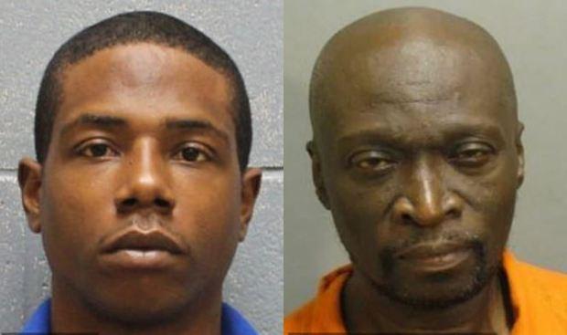 Antwain Shamar Fisher [left], and David Johnson Jr [right] 1