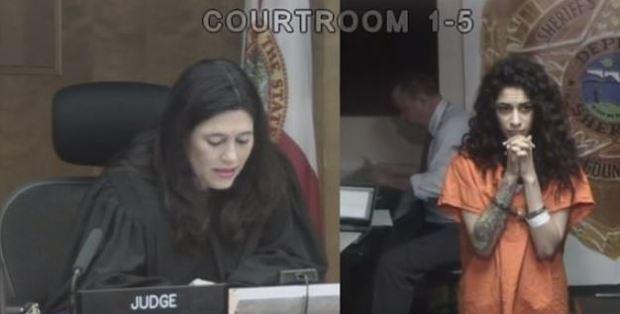 Irabelis Carrazana in court 2.JPG