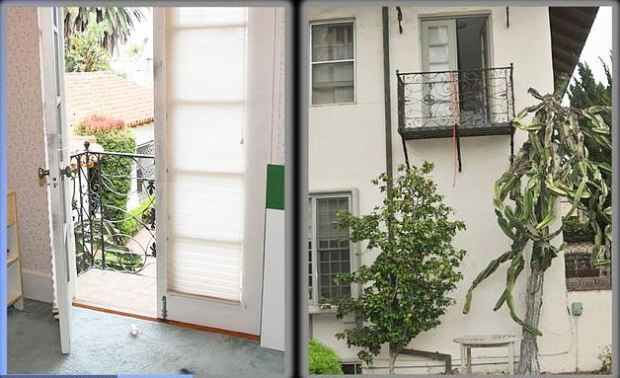Jonah Shacknai;s home, Balcony shot.JPG