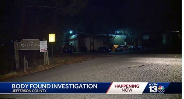 Police discover Kellie Ann Hughes' body 1.JPG