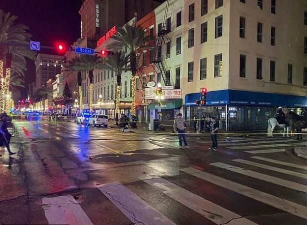 Weekend shooting rampage in New Orlean's French Quarter 5