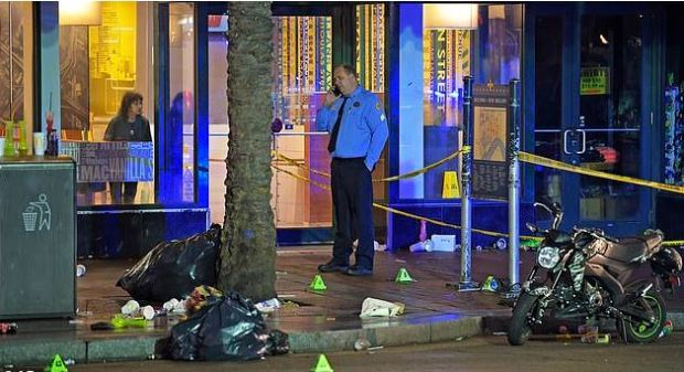 Weekend shooting rampage in New Orlean's French Quarter 8.JPG