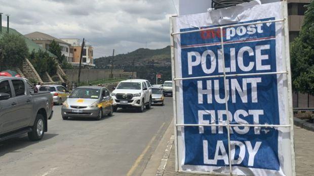 Lesotho police Hunt First Lady Maesaiah Thebane 1