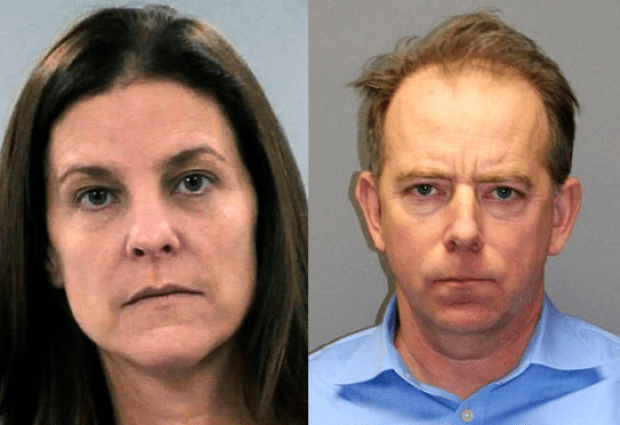 Michelle Troconis, [left] and Kent Mawhinney (right),1
