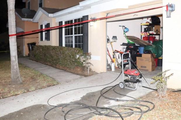 Kenyatta Bellamy murder scene 1